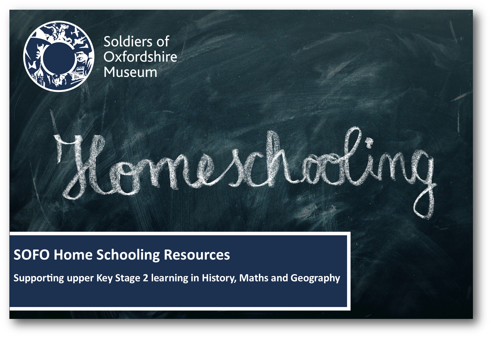 Home School Resources supporting upper key stage 2 History, Maths and Geography