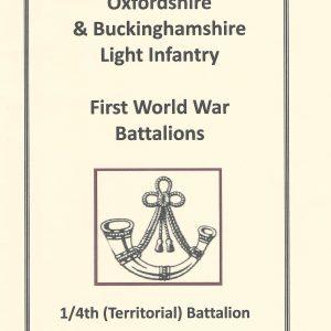 WWI 1 4th Battalion
