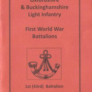 WWI 1st(43rd) Battalion