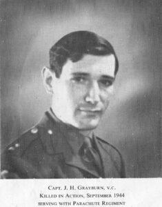 """Lieutenant John """"Jack"""" Hollington GRAYBURN"""