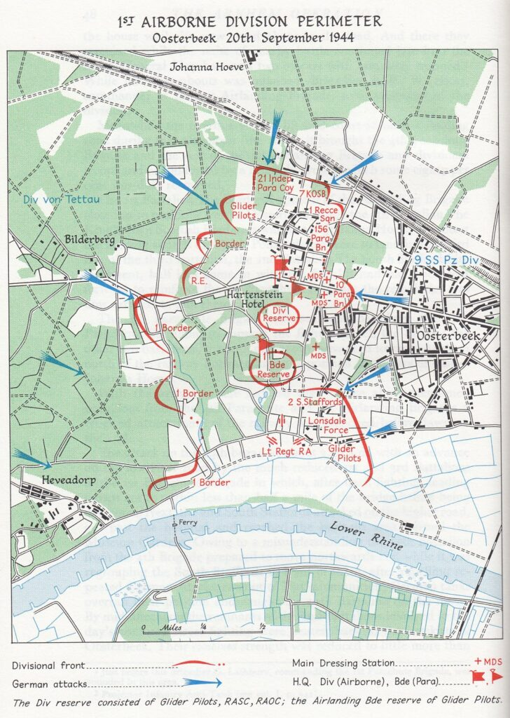 """Map from """"Victory in the West"""" Volume 2 The Defeat of Germany by Major L .F. Ellis and James Butler 1962"""