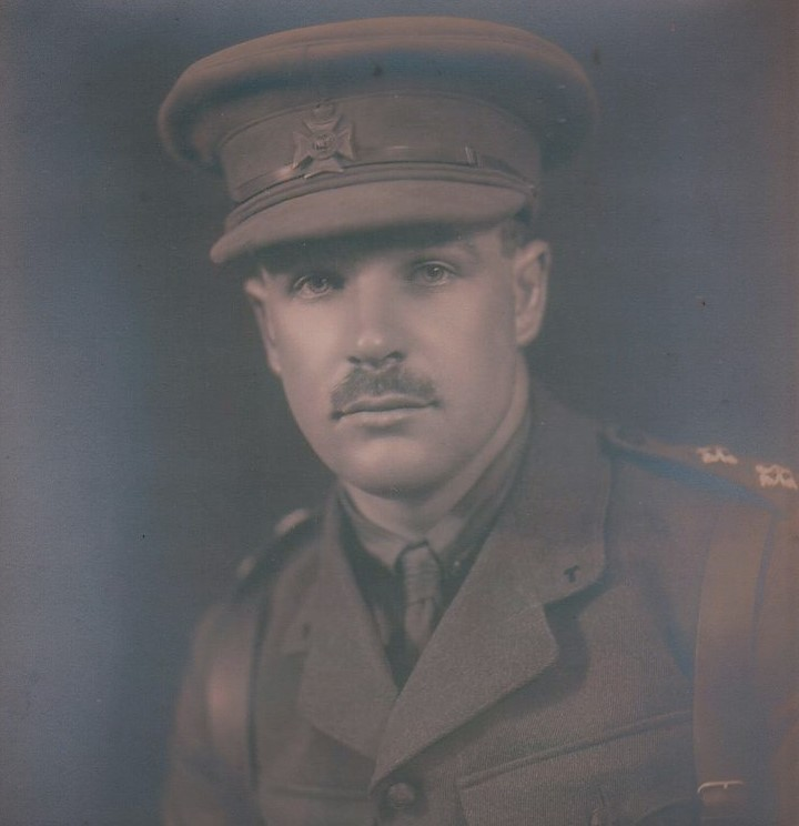 Lt. Bernard 'Pop' Green in the Bucks Battalion